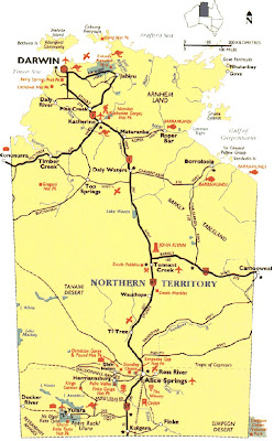 Northern Territory Map Picture