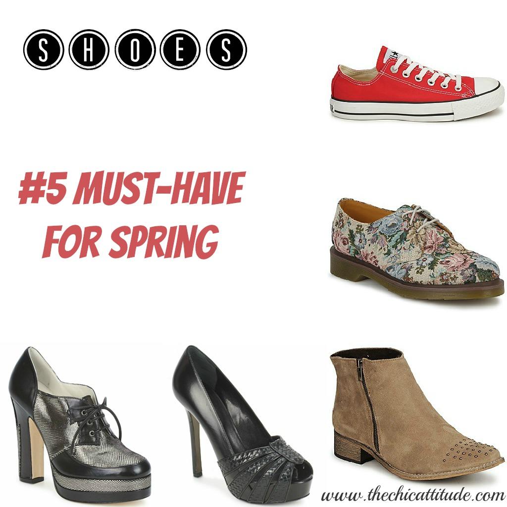 Shoes: 5 Must Have Per La Primavera