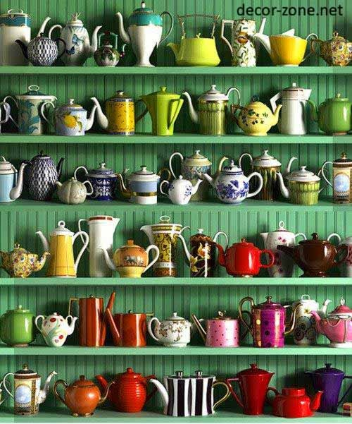 kitchen shelves, kitchen decorating ideas