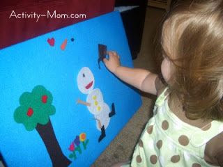 Felt board activities for young children