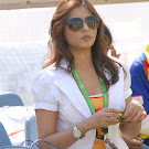 Madhu Shalini at Chennai Rhinos Vs Kerala Strikers Match Photo Gallery