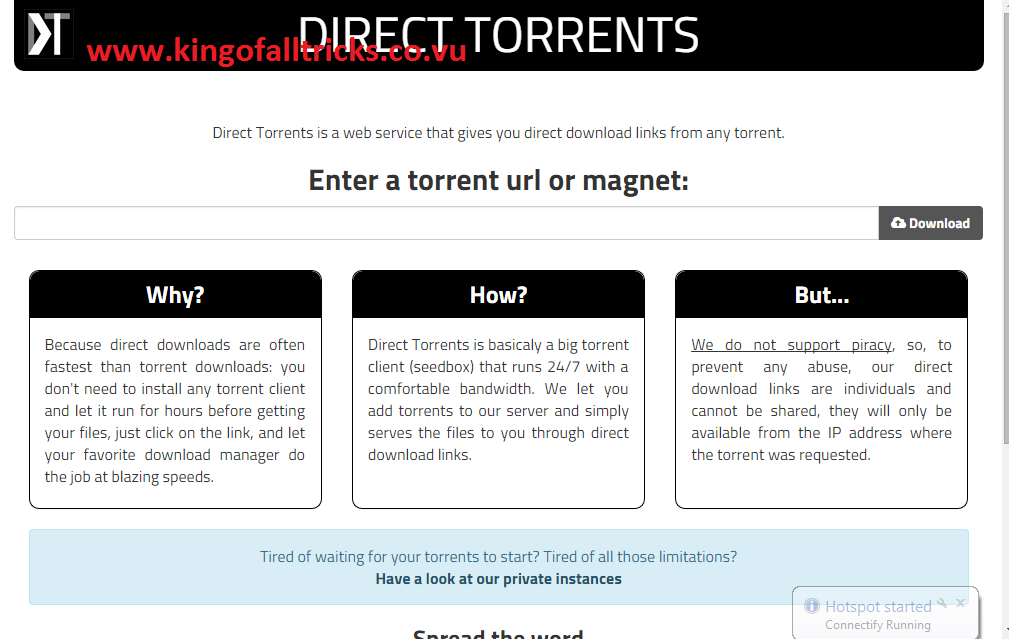 download torrent online without registration