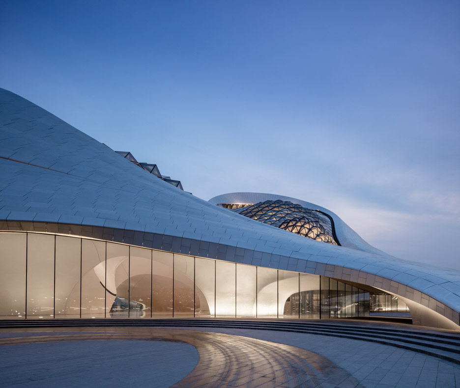 Harbin opera house mad architects architecture design for Beijing opera house architect