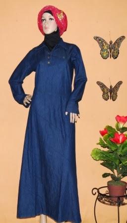 Gamis Jeans Wanita GJ1054A