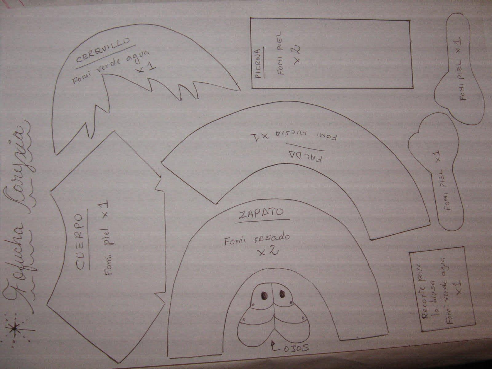 Les Brindo El Molde Por Si Se Animan A Realizarla   Saludos   Lina