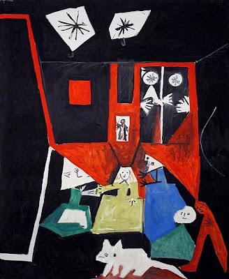 Picasso - Les Menines ( d'après Velasquez )