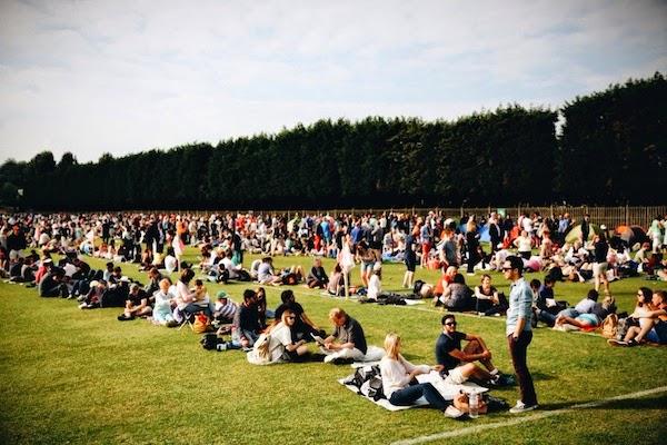 Wimbledon 2014 queues