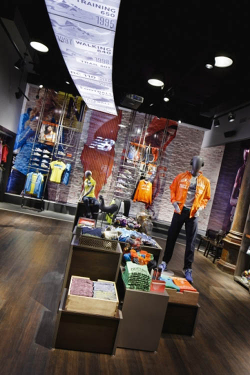 New Balance New York Store Design