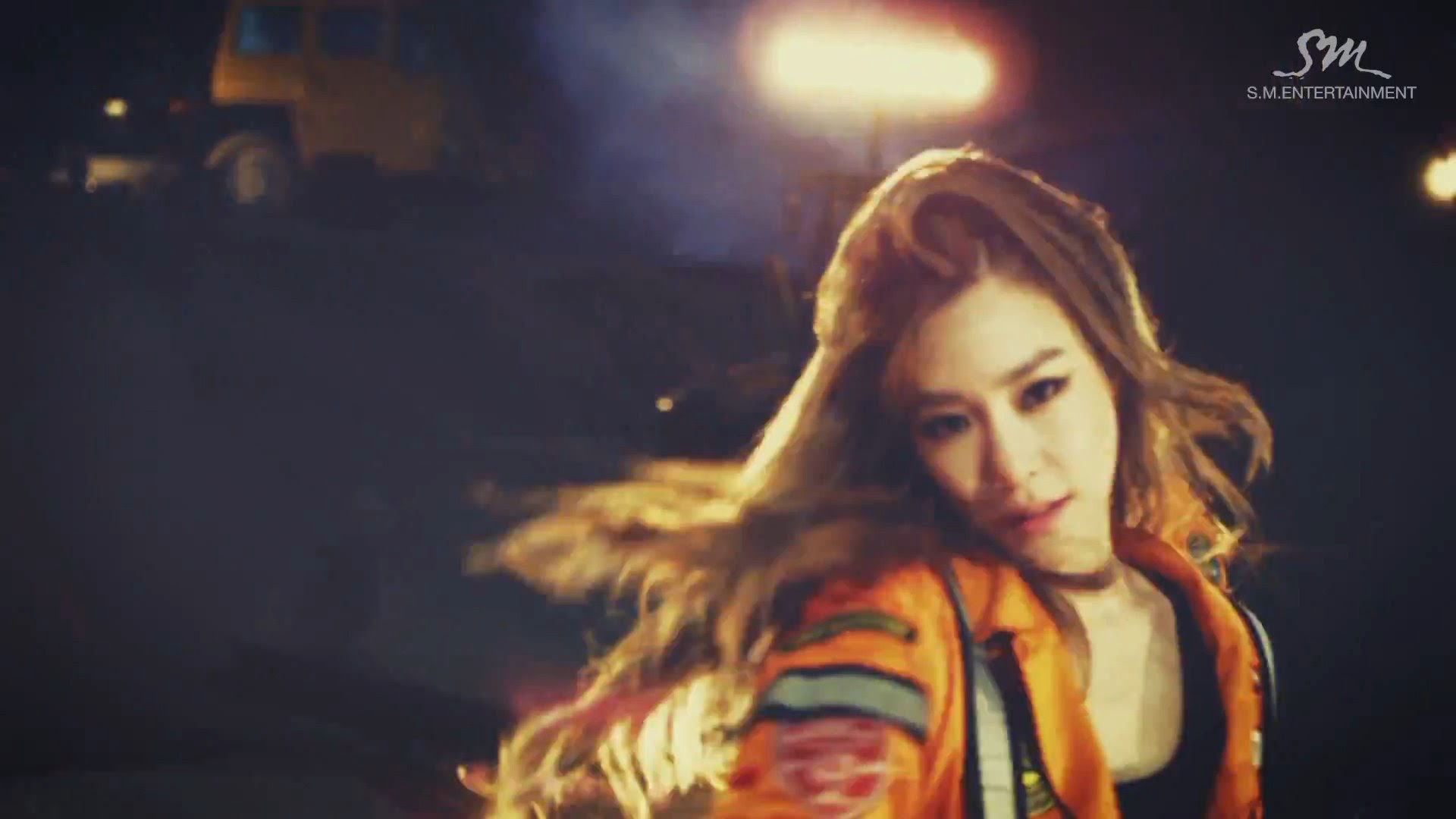 Girls' Generations' Tiffany in Catch Me If You Can MV