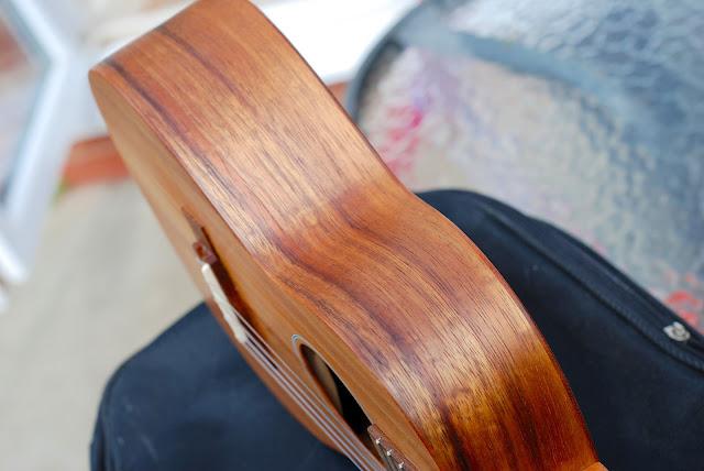 Martin T1K ukulele sides