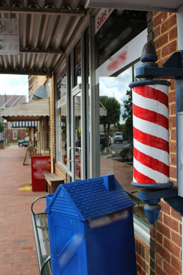 Old town center #barber #vintage #adventure