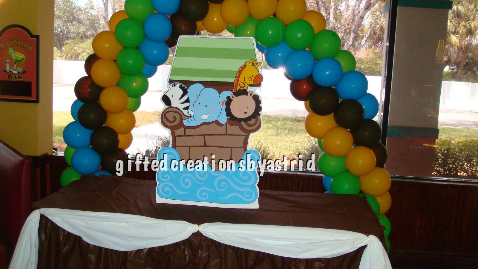 gifted creations by astrid noah 39 s ark baby shower