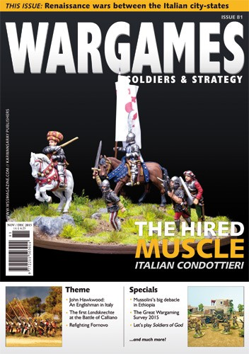 Of an italian condottiere quot in wargames soldier and strategy issu 81