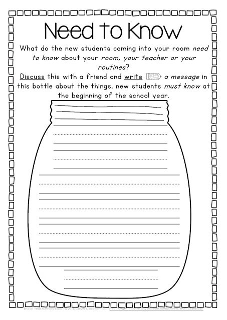 Do you have an end of year activity that we could add to this download ...