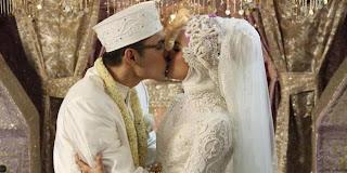 Foto Acara Pernikahan Marshanda Dengan Ben Kasyafani