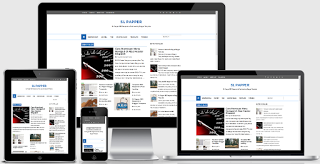 SL Papper SEO, Responsive and Fast Loading Blogger Template