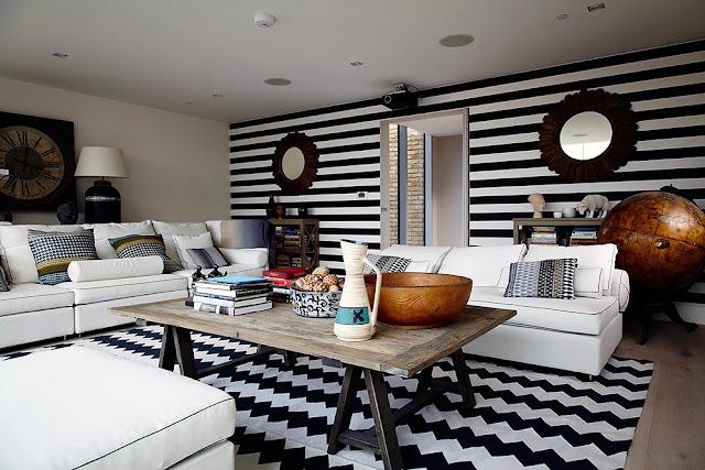blog de decoração, apartamento decorado, decoração em preto e branco