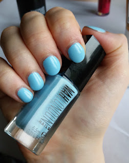 WAH London Nail Polish in Private Plane Swatch