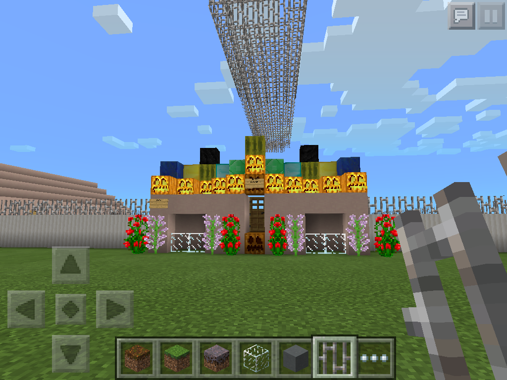 Minecraft constructions - Commonwealth Stadium (equestrian)