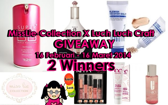 GIVEAWAY: MissLie-Collection X Luch Luch Craft