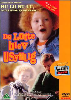 Когда Лотти становится невидимой / Da Lotte blev usynlig.