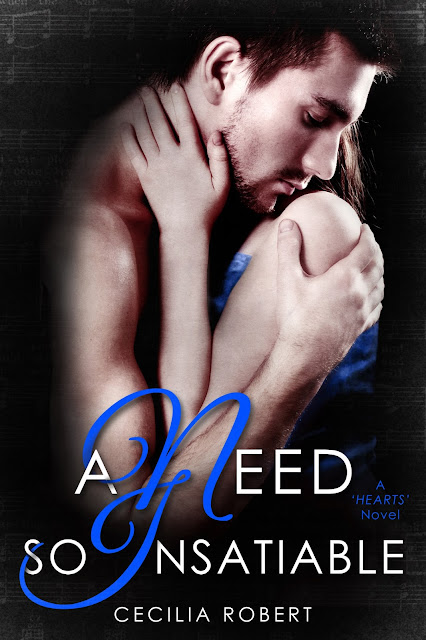 Cover Reveal: A Need So Insatiable by Cecilia Robert