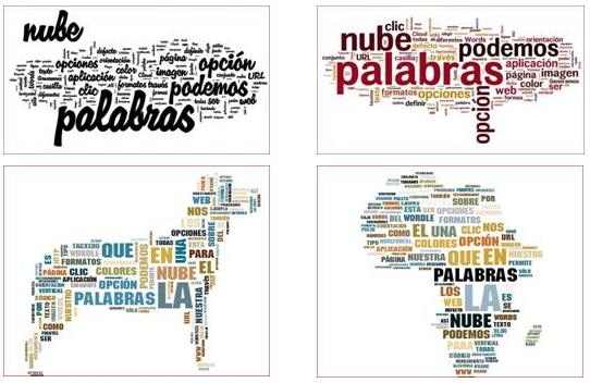 de recursos para Imagen y Comunicación: Software para crear NUBES DE