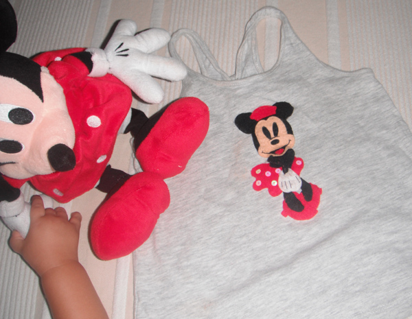 Detalle Camiseta Minnie