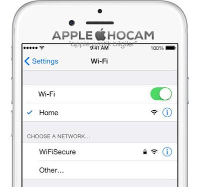 iOS 9 Wi-Fi Kopma Sorunu