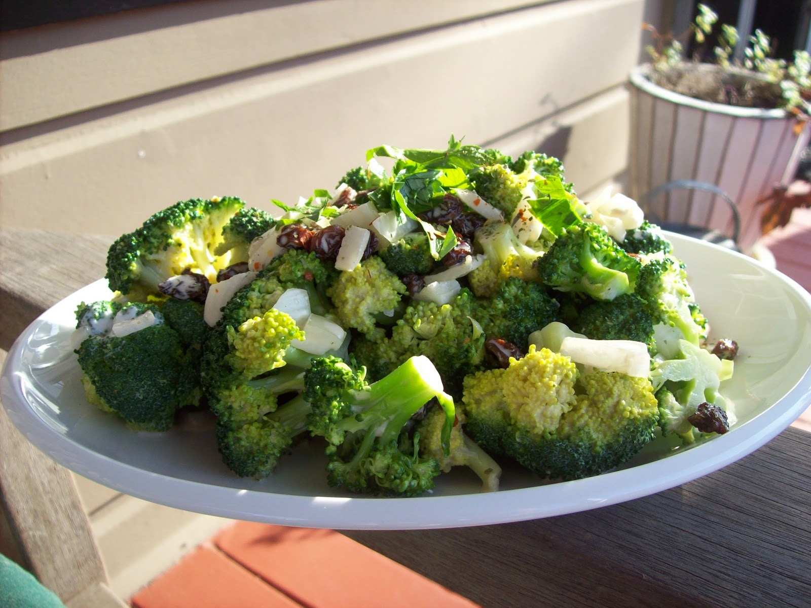 Napa Farmhouse 1885 Want Another Recipe For Broccoli Salad