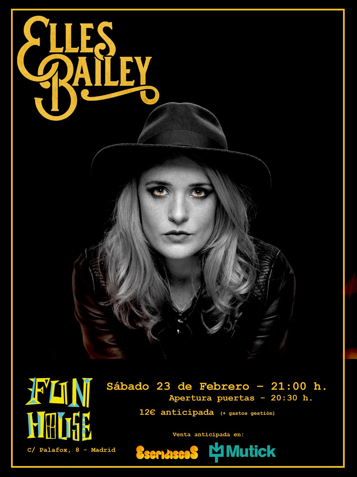 Elles Bailey - 23/02/2019 - Fun House (Madrid)
