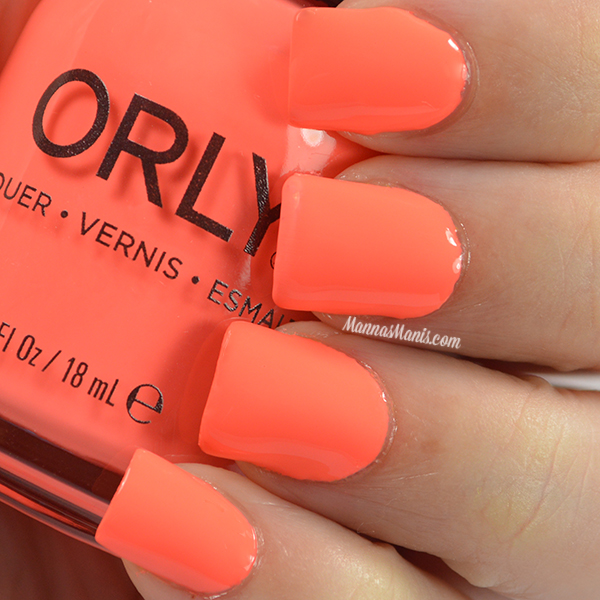 Orly Adrenaline Rush Push the Limit swatches