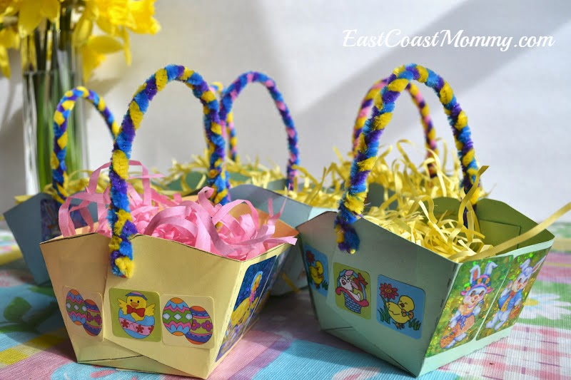 East Coast Mommy Easter Paper Baskets