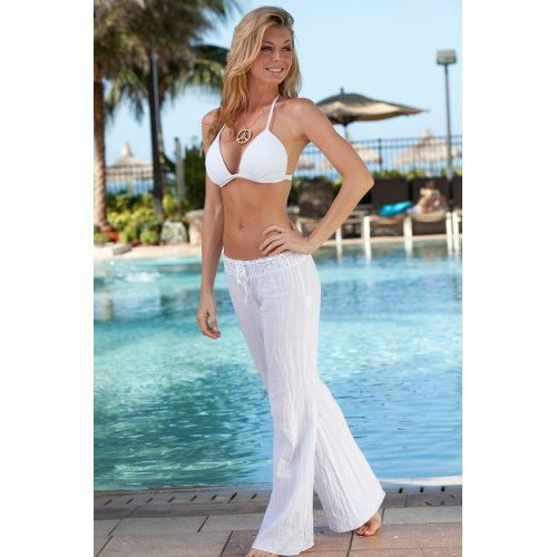 Description Cotton Drawstring Pants Ideal yoga clothes, spa apparel, beach wear and travel clothes Our Cotton Drawstring Pants are designed for comfort and simplicity. The enlightened alternative to jeans, Manta Wear™ elasticized waist fits gently and side seam pockets hold the keys to inner peace.