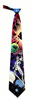 Silver Surfer Tie