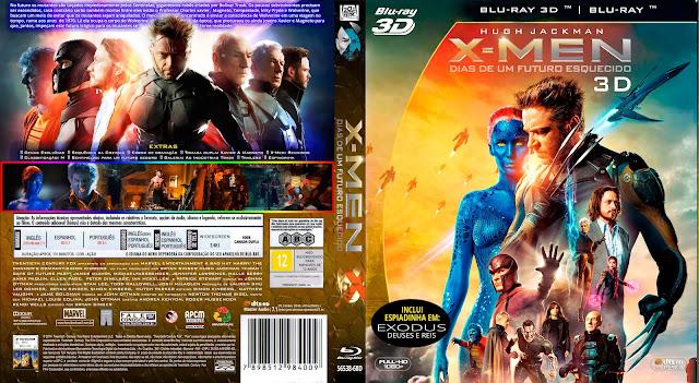 Capa Bluray X Men Dias De Um Futuro Esquecido