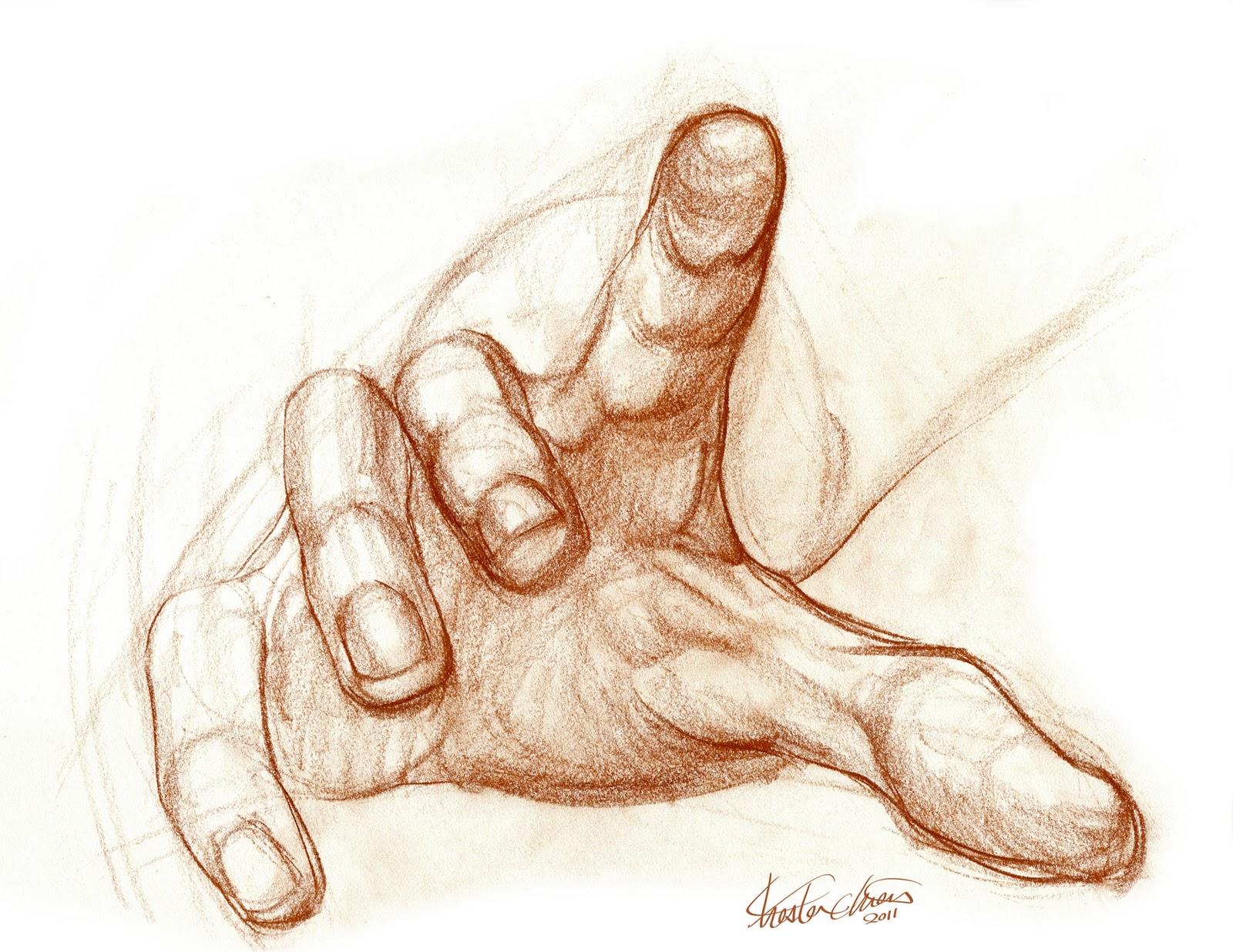Палец к руке кто нарисовал