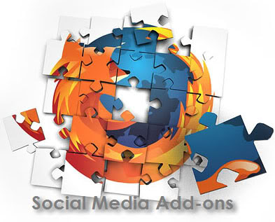 Firefox social media add-ons