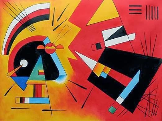 doodlesnoodles Kandinsky Color Scheme Compositions