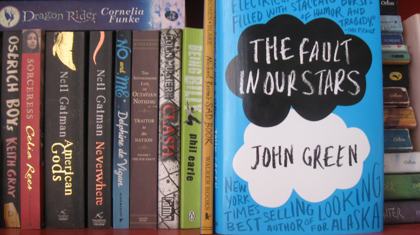 John Green, The Fault in Our Stars and Sick Lit