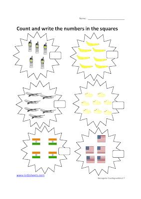 Free Printable Preschool Worksheets,Free Worksheets, Kids Maths Worksheets, Maths Worksheets, Preschool Counting, Counting,Preschool, Kids Counting