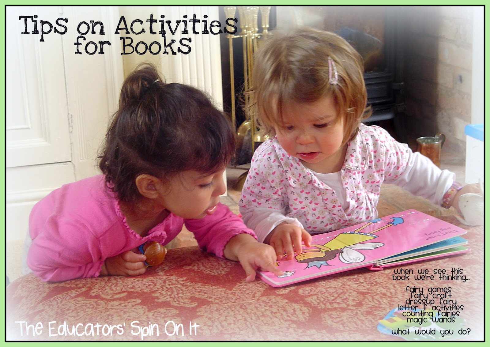 Tips and Activities for books