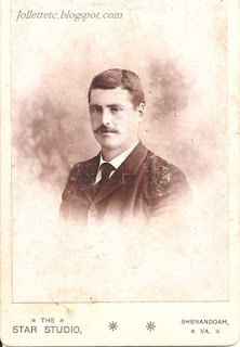 Walter Davis about 1890
