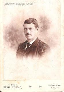 Walter Davis about 1890