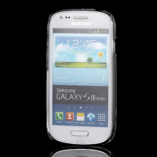 Clear Crystal Case Cover for Samsung Galaxy S3 Mini i8190