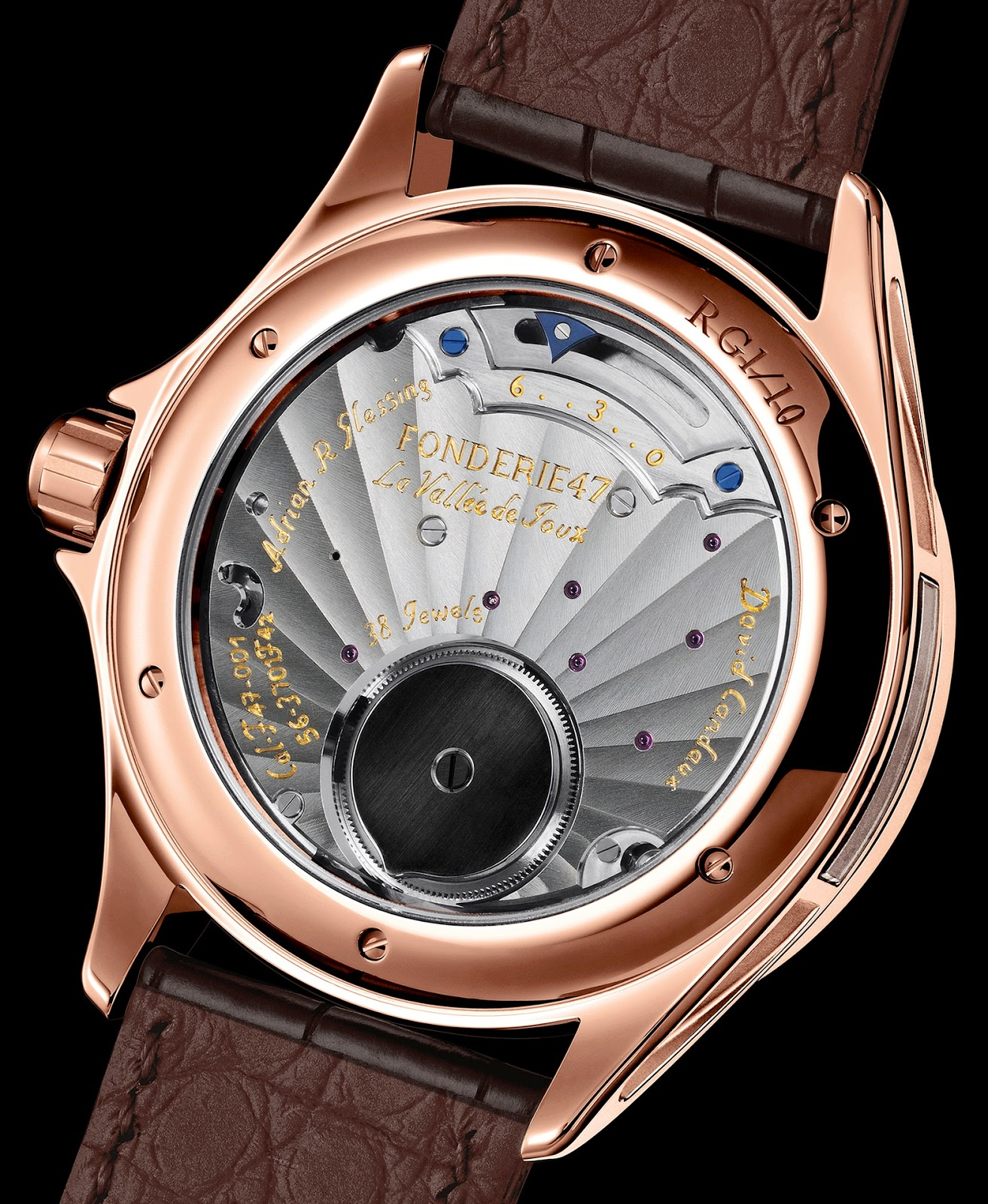 calibre F47-001 Fonderie 47 Inversion Principle