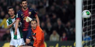 Hasil Pertandingan Barcelona Vs Cordoba