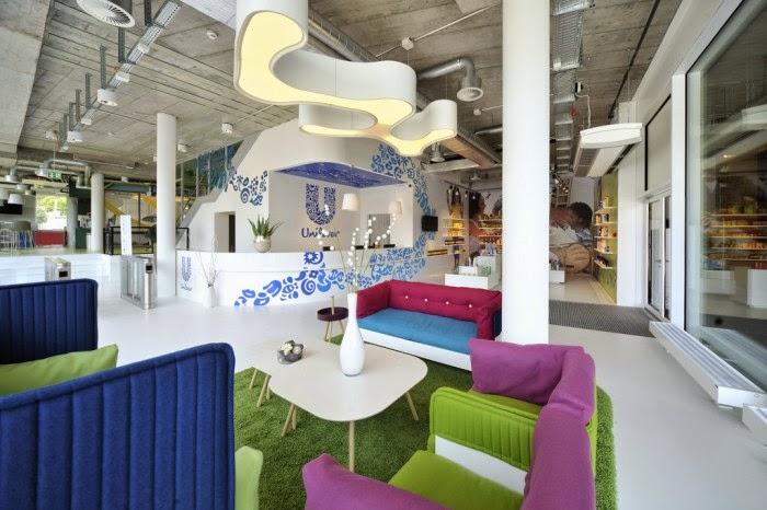 Unilever Switzerland Office Interior Design Ideas