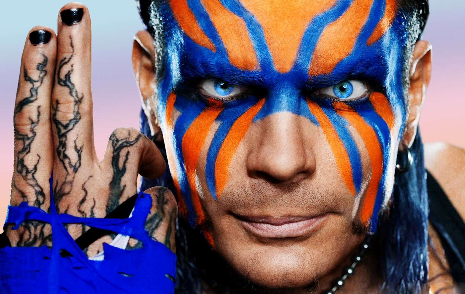 WWE Jeff Hardy Face Paint