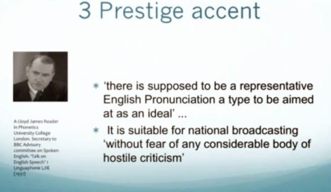 I need help creating a thesis involving 'accents'?